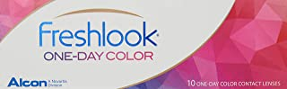FreshLook One Day Contact Lenses, Color Mystic Hazel pack/10-1.50