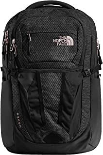873adc1685 The North Face Women's Recon Backpack - TNF Black Heather & Burnt Coral  Metallic - OS