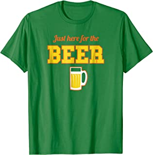 Shirt.Woot: Just Here for the Beer Remix T-Shirt