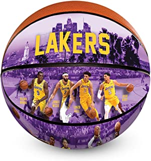 NBA Los Angeles Lakers 2018/2019 Roster Officially Licensed Authentic Basketball