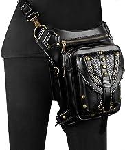 CVBGH Punk Handtassen Modetrend Enkele Schouder Tas Vrouwelijke Kleine Tas Zwarte Heuptas