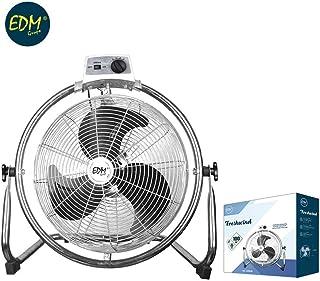 Ventilador industrial oscilante 100W 45cm EDM 33938