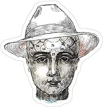 Vijk kor Panama hat - Phrenology Head Stickers (3 Pcs/Pack)