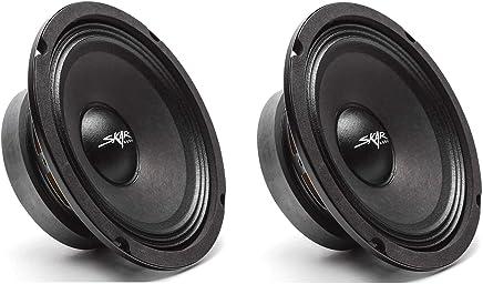 $41 Get (2) Skar Audio FSX65-4 300-Watt 6.5-Inch 4 Ohm Mid-Range Loudspeakers - 2 Speakers