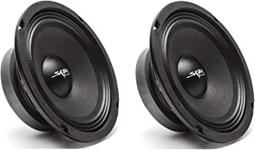 (2) Skar Audio FSX65-4 300-Watt 6.5-Inch 4 Ohm MID-Range Loudspeakers - 2 Speakers