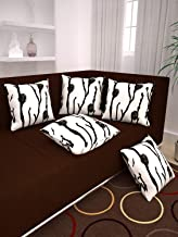 Story at Home Set Of 5 Premium Cushion Cover, White, 48cm X 40cm, Ch1204