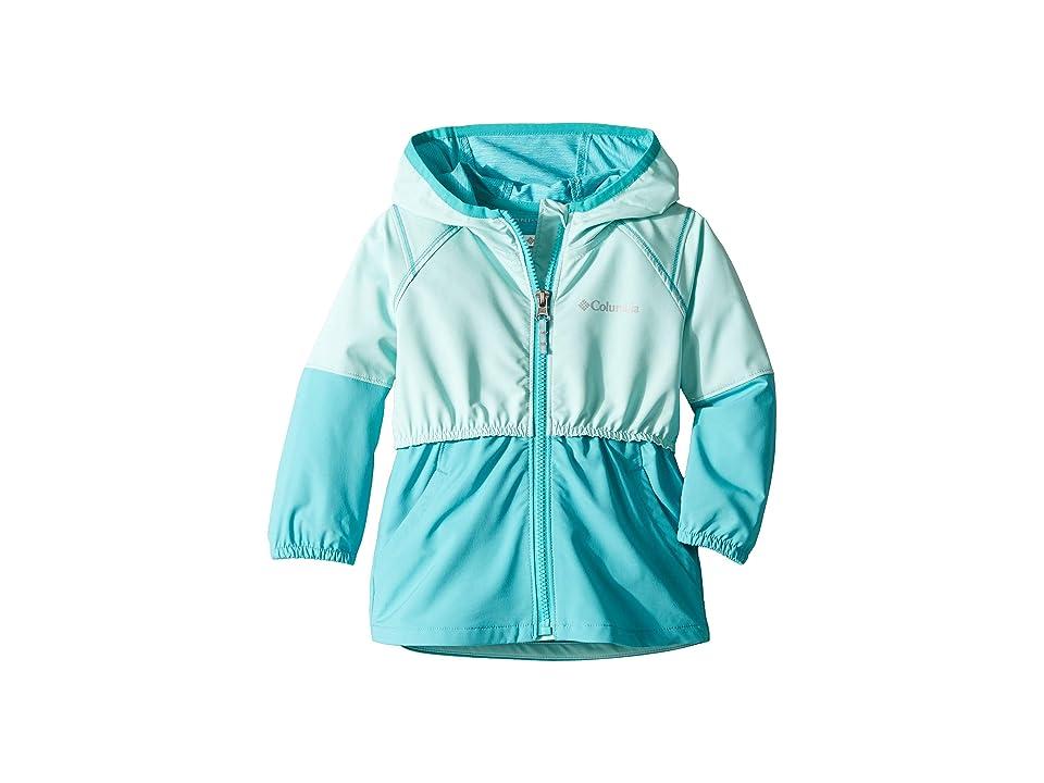 Columbia Kids Hidden Canyontm Softshell Jacket (Toddler) (Gulf Stream/Geyser) Girl