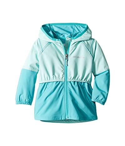 Columbia Kids Hidden Canyontm Softshell Jacket (Toddler) (Gulf Stream/Geyser) Girl