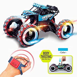 AIOJY 2020 New Gesture Induction Drift Twisting Off-Road Vehicle Watch Controller Light Music Big Wheel Children's Toy Car, The Best Birthday Gift for Children (Color : E)