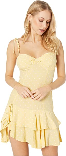 Limoncello Tiered Ruffle Dress