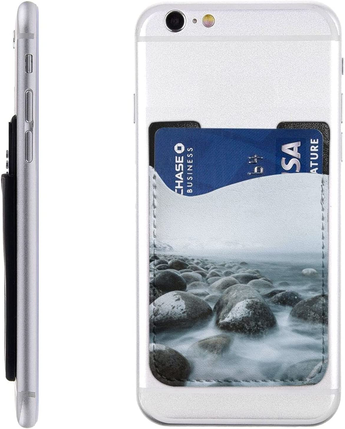Sea Water The Rocks Snow Mountain Fashion Holder S Phone Cell free shipping Card
