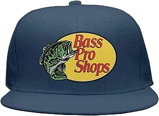 Street Dancing Adjustable Mesh Unisex Fishing-Fish-Bass-Pro-Shops-Logo-Snapback Hats Cap