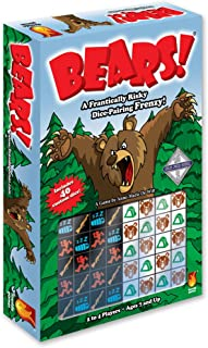 Fireside Games Bears Dice Game - Board Games for Families - Board Games for Kids 7 and up