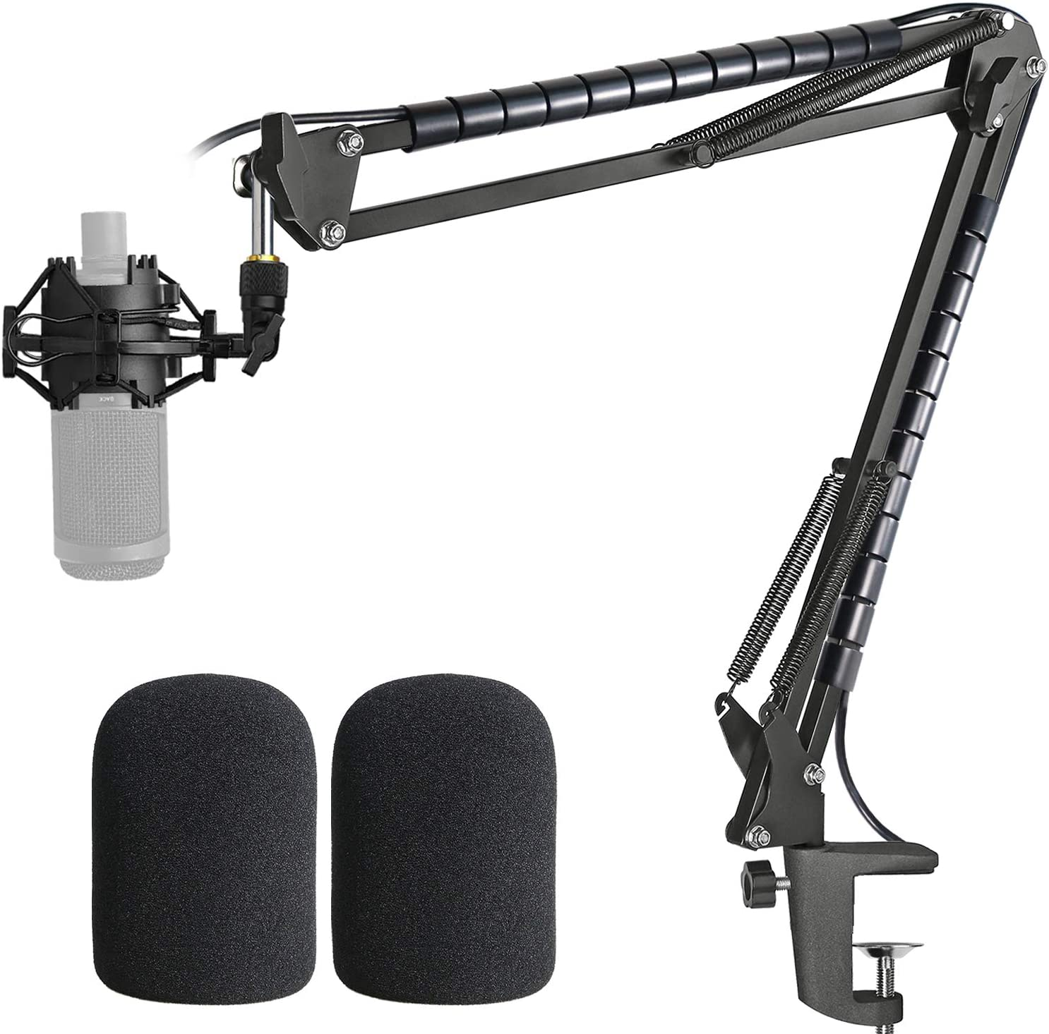AT2020 Microphone gift Stand with Pop Shockmount Compatibl Popular brand in the world Filter and