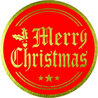Merry Christmas Stickers Seals Labels (Pack of 120) 2