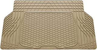 FH Group F16403TAN Cargo Mat Fits Most Sedans, Coupes and Small SUVs (Semi Custom Trimmable Vinyl Tan)