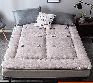JINDSMART Colchón de futón, tapete de Tatami Grueso, colchón de Piso, colchón de Camping portátil, Muebles de futón