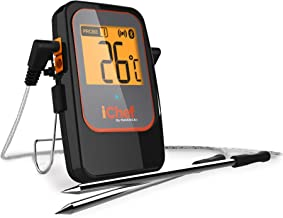 Maverick BT-600 iChef Bluetooth Digital Instant Read Cooking Kitchen Grilling Smoker BBQ Wireless Probe Meat Thermometer, Black