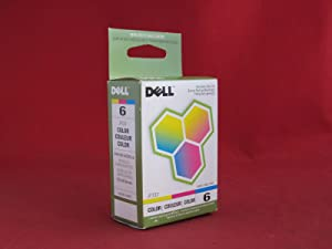1 X OEM Dell AIO 810 Color Ink Cartridge, Series 6