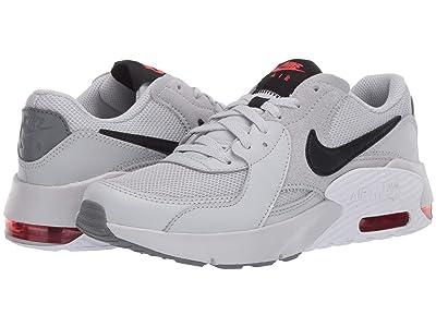 Nike Kids Air Max Excee (Big Kid) (Grey Fog/Black/White/Track Red) Kid