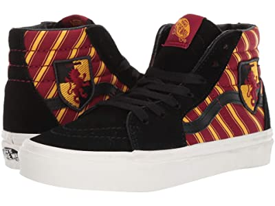 Vans Kids Vans x Harry Potter Sneaker Collection (Little Kid/Big Kid) ((Harry Potter) Sk8-Hi Gryffindor/Multi) Kids Shoes