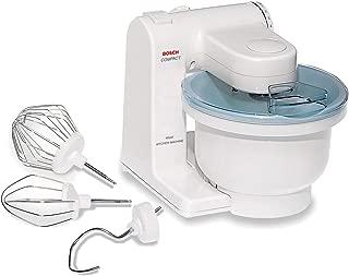 Bosch MUM4405 Compact Tilt-Head Stand Mixer with Pouring Shield, 400 watt, 4 Quart