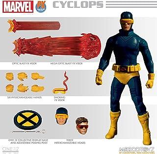 Mezco Toys Marvel Universe Light-Up Action Figure 1/12 Cyclops 16 cm Figures