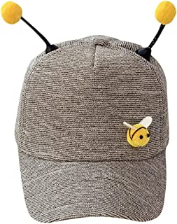 54e5655333dce TANGSen Unisex Children Summer Polo Bee Cap Baseball Sun Pony Adjustable  Cute Casual Fashion Hat
