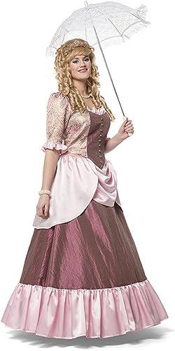narrenkiste L3201480-A lila-Flieder Damen Marquise Rokoko Kostüm Kleid