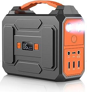 ポータブル電源 大容量 DinoFire 45000mAh/167Wh家庭用蓄電池 PSE認証済み 三つの充電方法 AC(100W)USB出力 急速充電QC3.0 家庭用バッテリー 小型発電機ポータブルバッテリー モバイル電源 液晶画面表示 ...