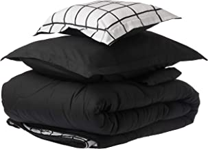 Comforter Set 6 Pieces and Double Sided by Hours, King Size, SOPHIA-017