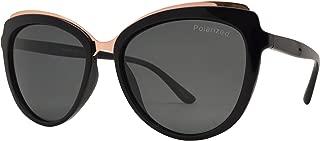 Polarized Cateye Sunglasses for Women - Vintage Fashion Oversize Shades
