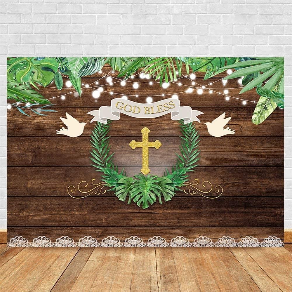 Zhy Safari Boy Backdrop Boys Baby Shower Party Decoration 7/×5ft Vinyl Jungle Animals Boy Baby Shower Party Supplies Photography Background