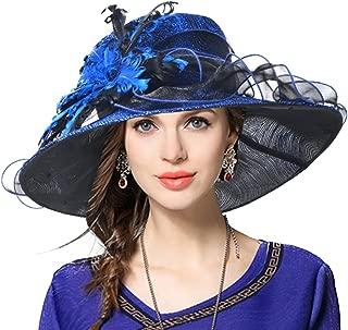 Ladies's Kentucky Derby Church Wedding Luxury Dress Hat