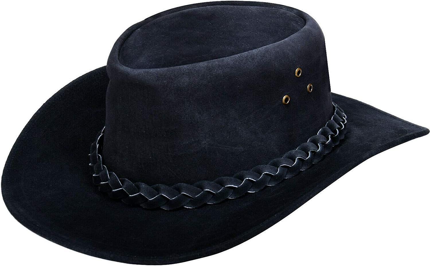 Australian Unisex Popular brand in the world Western Style Max 87% OFF Cowboy Outback Leathe Real Suede