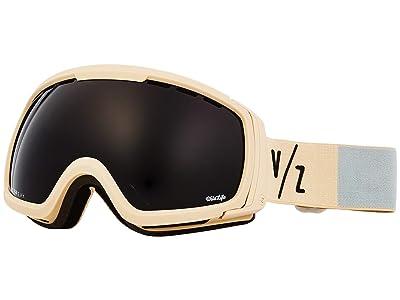 VonZipper Feenom NLS Goggle (Bone Satin/Wild Blackout) Goggles