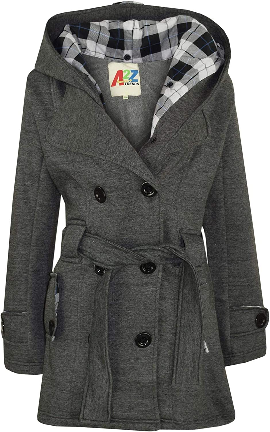 Max 40% OFF Kids quality assurance Girls Overcoat Hooded Trench Oversized Coat Lapels L Padded