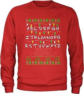 Strange Merry Christmas Ugly Holiday Crewneck Sweatshirt