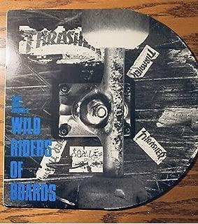 Original Die Cut Sleeve With Pin Up Insert Various – Skate Rock Volume 3 - Wild Riders Of Boards Lp