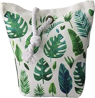 Hogar y Mas Sujetapuertas Decorativo Textil, Tropical 1,3 kg. Saco Original con Sisal Natural para Puertas 19x19x8 cm