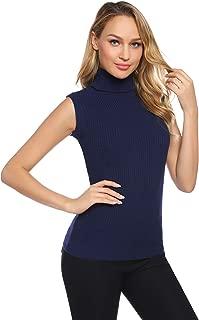 Best women's sleeveless mock turtleneck tops Reviews