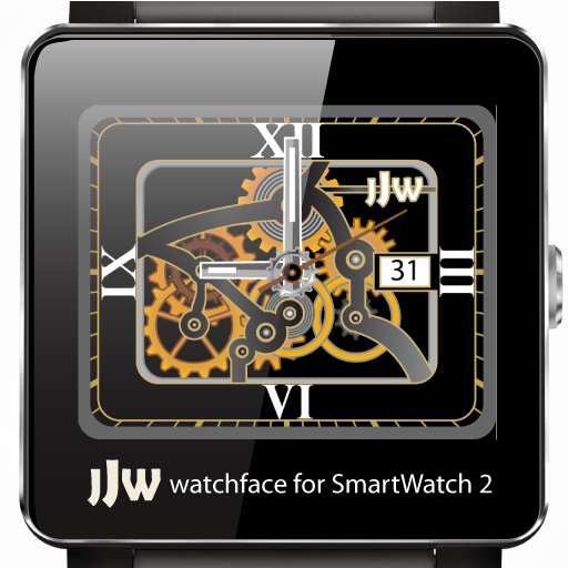 JJW Animated Gear Watchface 3 for SmartWatch 2