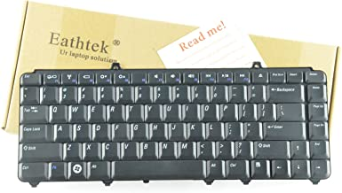 Eathtek Replacement Keyboard for Dell Inspiron 1545 1540 PP41L P446J NSK-D9301 NSKD9301 Series Black US Layout