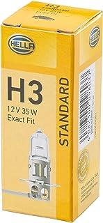 HELLA 8GH 002 090 271 Glühlampe   H3   Standard   12V   35W   Sockelausführung: PK 22 S   Schachtel   Menge: 1