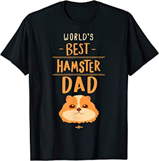 Hamster Dad T Shirt Gift Kids Men Boys Hammy Costume Outfit
