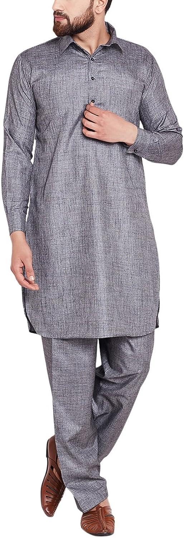 Sojanya Men's Cotton Linen Kurtas