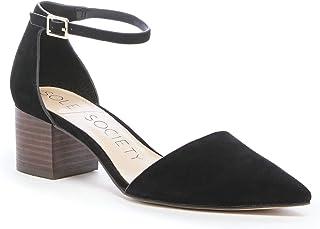 حذاء كاتارينا للسيدات من سول سوسايتي مع كعب عريض 4.4 سم