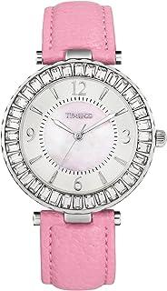 Time100 Women Luxury Diamonds Round Shell Dial Women Watch Japan Movement