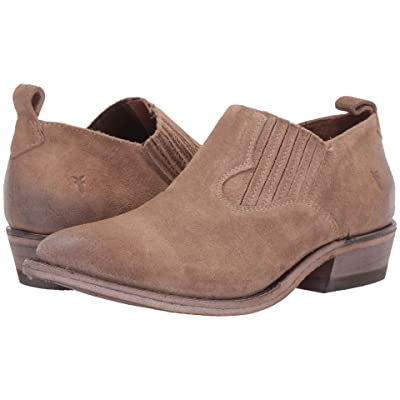 Frye Billy Shootie (Beige Multi Waxed Oiled Suede) Women