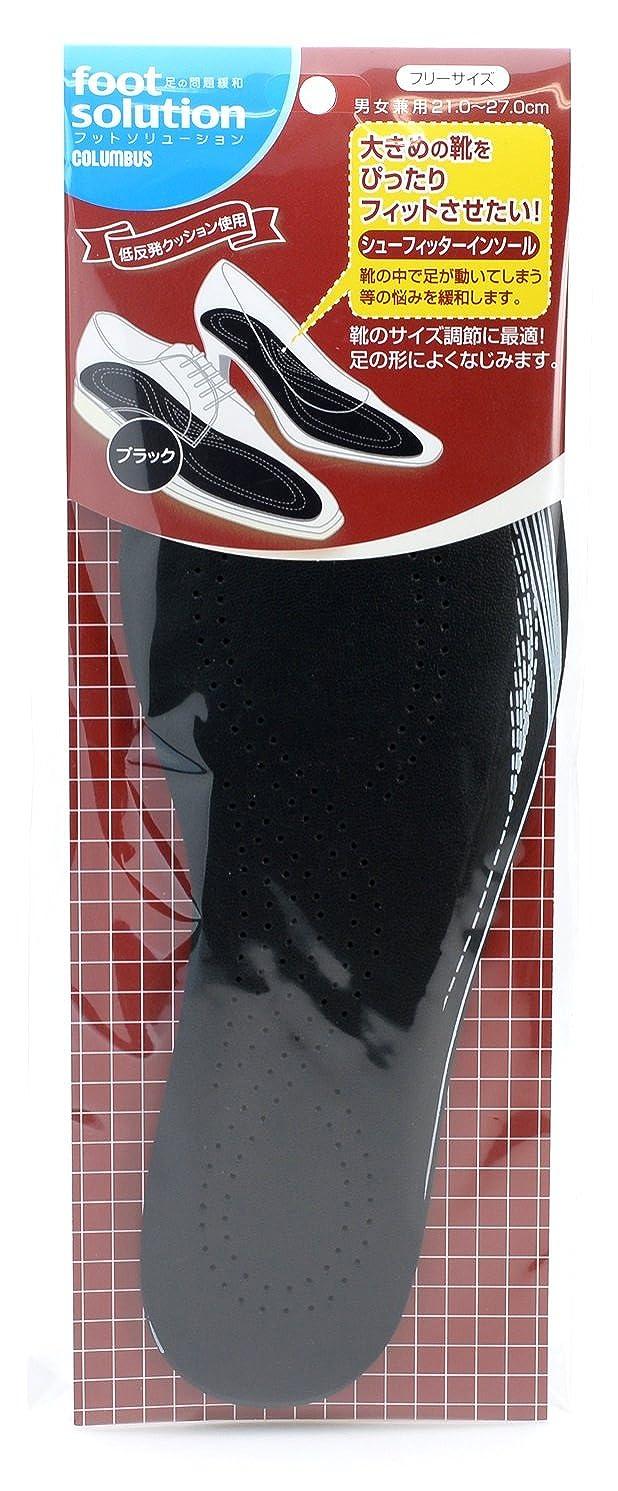 太字ほとんどの場合つぶすフットソリューション(footsolution) シューフィッターインソール【サイズ調整用中敷】